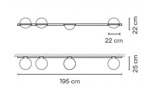 Vibia Palma 3706 Grafik