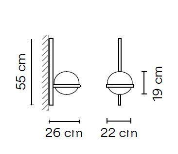 Vibia Palma 3710 Grafik