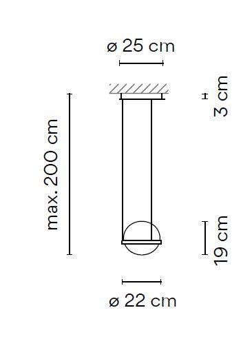 Vibia Palma 3720 Grafik