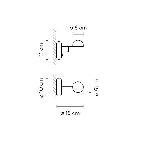 Vibia Pin 1675 Grafik