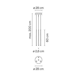 Vibia Slim 0915 Grafik