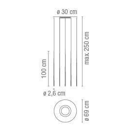 Vibia Slim 0935 Grafik