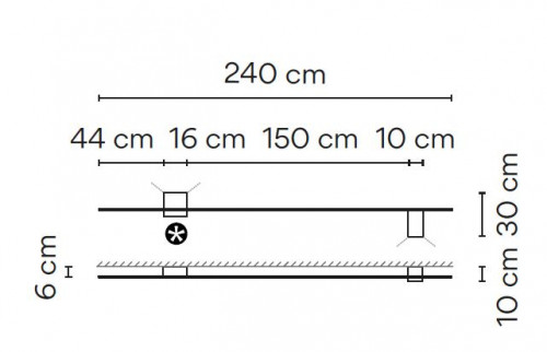 Vibia Structural 2612 Grafik