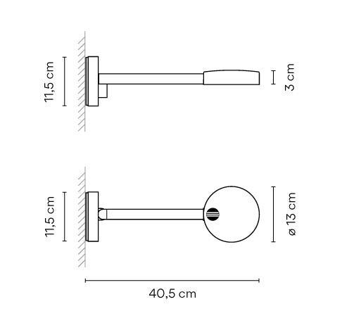 Vibia Swing 0526 Grafik