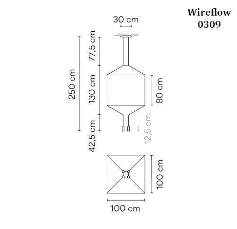 Vibia Wireflow 0309 Grafik