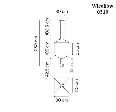Vibia Wireflow 0310 Grafik