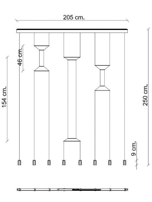 Vibia Wireflow 0340 Grafik