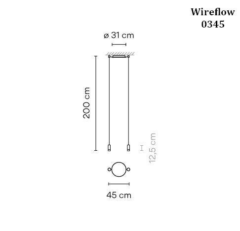 Vibia Wireflow 0349 Grafik