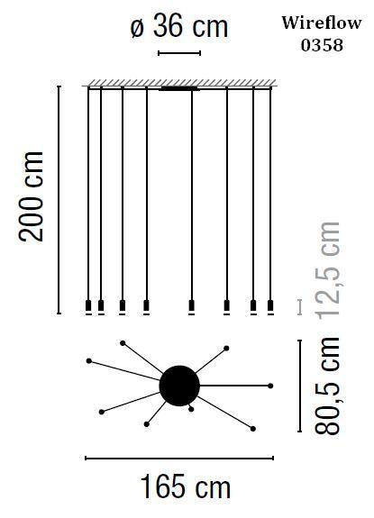 Vibia Wireflow 0358 Grafik