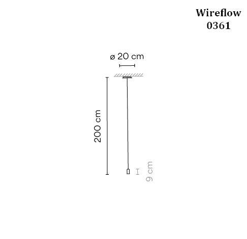 Vibia Wireflow 0361 Grafik