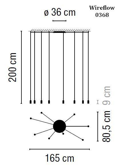 Vibia Wireflow 0368 Grafik