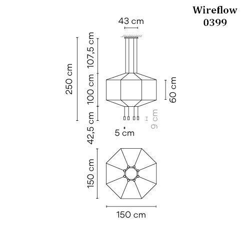 Vibia Wireflow 0399 Grafik