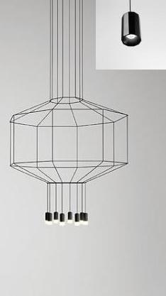 Vibia Wireflow 0400 (Lampen siehe kleines Bild)