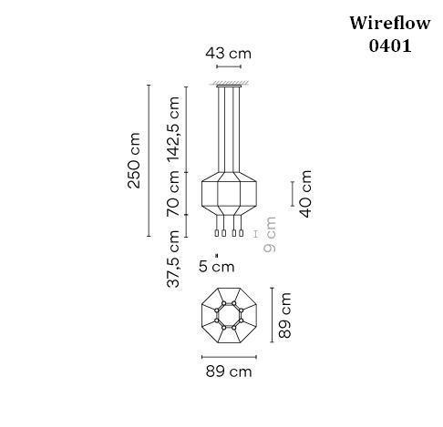 Vibia Wireflow 0401 Grafik