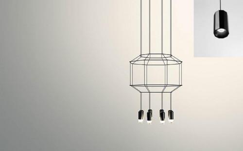 Vibia Wireflow 0402 (Lampen siehe kleines Bild)