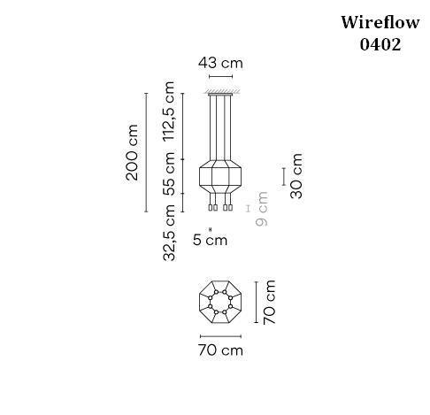 Vibia Wireflow 0402 Grafik