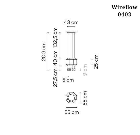 Vibia Wireflow 0403 Grafik