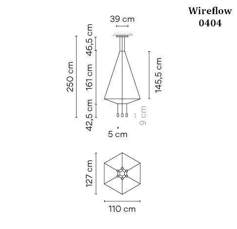 Vibia Wireflow 0404 Grafik
