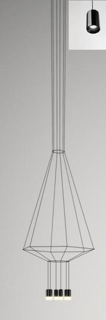 Vibia Wireflow 0405 (Lampen siehe kleines Bild)