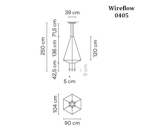 Vibia Wireflow 0405 Grafik