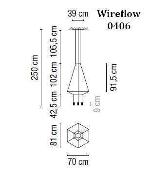 Vibia Wireflow 0406 Grafik