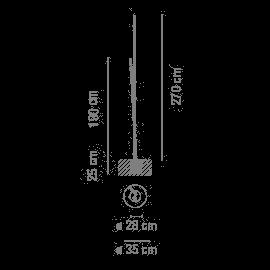 Vibia Bamboo 4811 Grafik