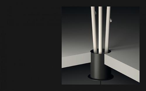 Vibia Bamboo 4812 als Einbauleuchte