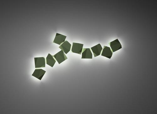 Vibia Origami 4504 grün