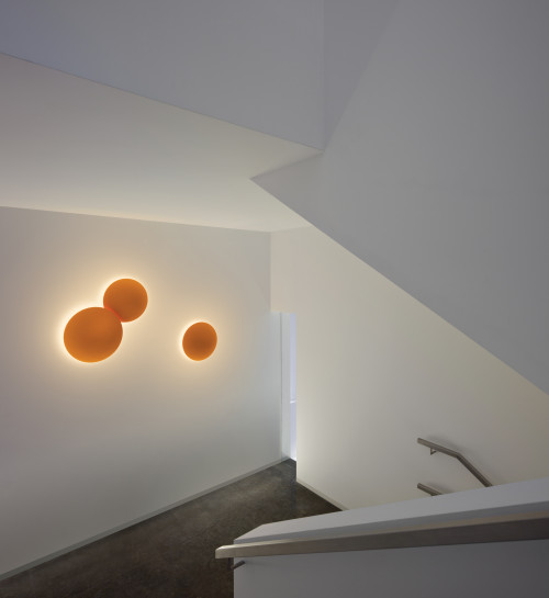 Vibia Puck Wall Art 5465 orange