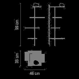 Vibia Suite 6026 Grafik