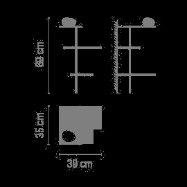 Vibia Suite 6031 Grafik