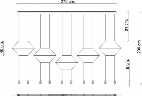 Vibia Wireflow 0332 Grafik