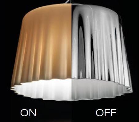 Vistosi Cloth SP G metallisiert ein- und ausgeschaltet
