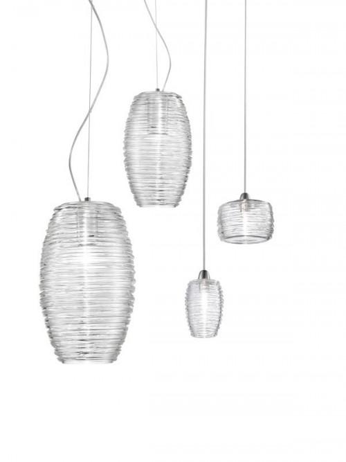 Vistosi Damasco SP P klar LED (zweite von rechts)