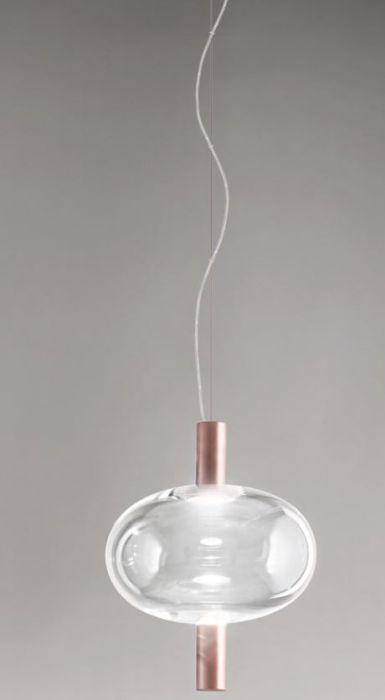 Vistosi Riflesso SP 1 Kupfer, Schirm Kristall