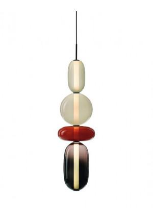 Bomma Pebbles Pendant Large Configuration 3-4-5 grau
