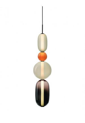 Bomma Pebbles Pendant Large Configuration 6-7 schwarz