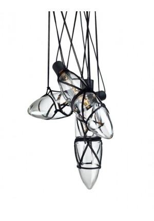 Bomma Shibari Kronleuchter mit 3 Leuchten