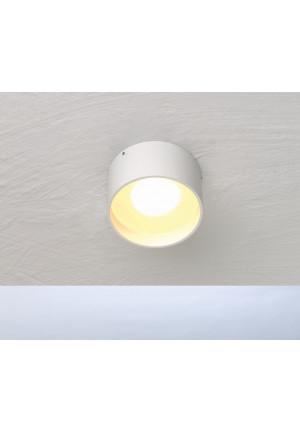 Bopp One Reflektor Ring gerade weiß/taupe