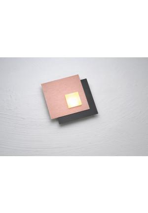 Bopp Pixel 2.0 1-flammig schwarz-aluminium