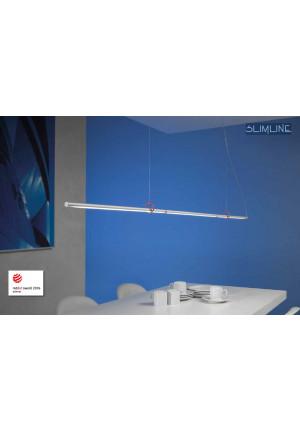 Escale Slimline Pendelleuchte 150 vario mit roten Clips