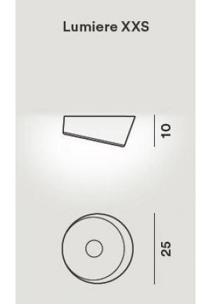 Foscarini Lumiere XXS Soffitto Parete LED Ersatzteil