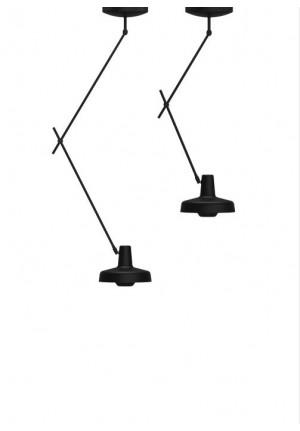 Grupa Arigato Ceiling Long schwarz