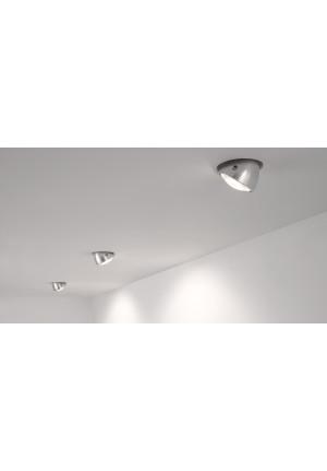 Less'n'more Mimix Beton Einbaustrahler Gehäuse grau
