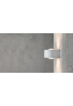 Less'n'more Mimix Beton Wandstrahler einflammig grau und weiß
