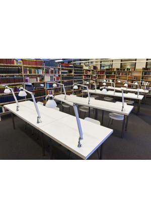 Luceplan Fortebraccio Tisch- und Wandleuchte Metall mit Wandbefestigung