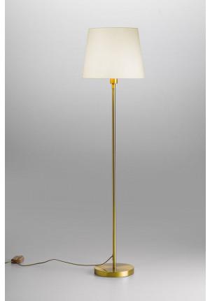 Lupia Licht Garde Leuchtenstab Nickel Leuchtenschirm weiß
