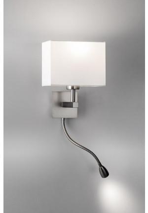 Lupia Licht Waterloo R Leuchtenschirm weiß