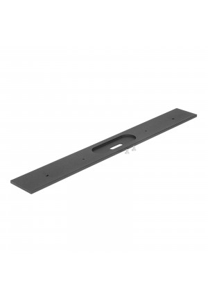 MMa[&]De Tablet W1 Blende schwarz, 41,9 cm, Ausführung 3a[&]De Tablet W1 fixing bracket black, 41.9 cm, version 3