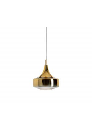 Mawa Vesuvio gold Version 1, Aufhängung schwarz, Baldachin schwarz